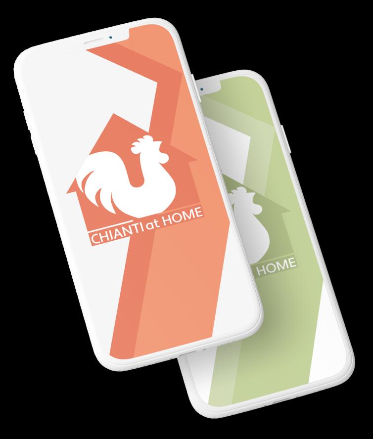 Chianti at Home Web App Logo Design Studio