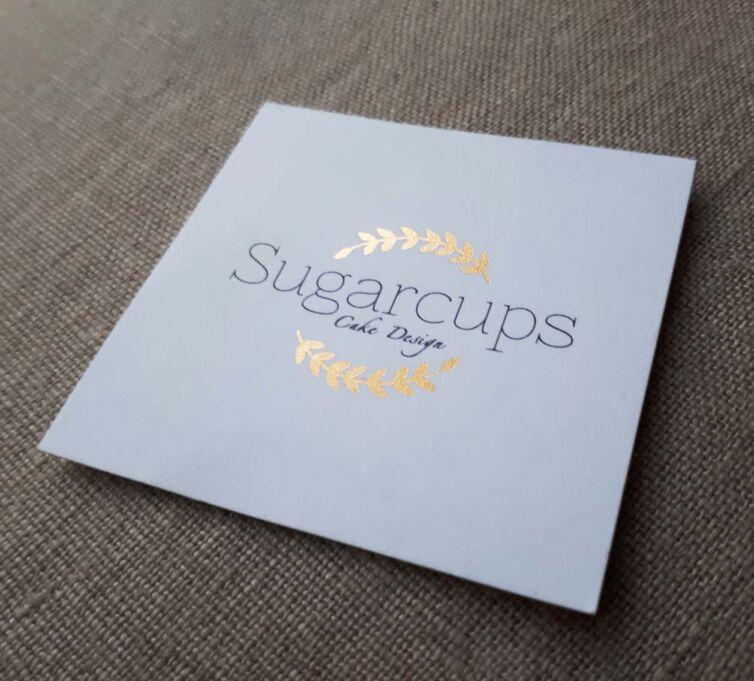 Sugarcups Business Card